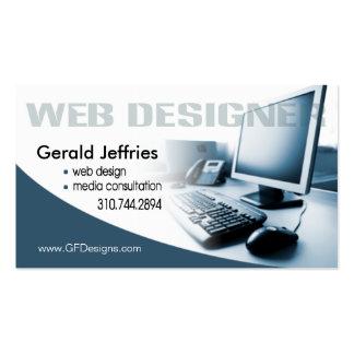 Whiz del ordenador del consultor de medios del tarjetas de visita