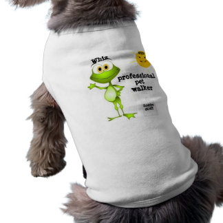 Whiz (professional pet walker) doggie tee