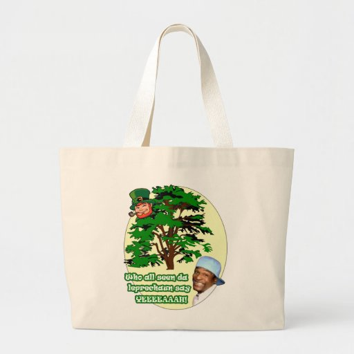Who all seen da Leprechaun Tote Bag