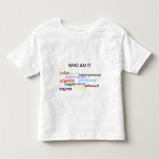 Who Am I? (Child) Toddler T-shirt