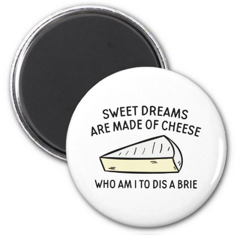 Who Am I To Dis A Brie Magnet