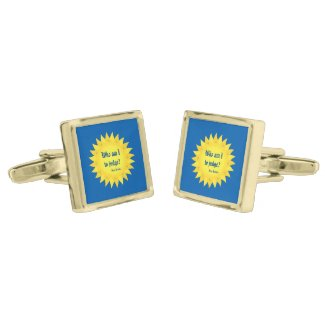 Who Am I To Judge?, Pope Francis Cufflinks