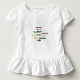 Who Am I? Toddler T-shirt