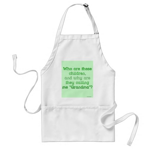 """Who Are These Children?"" Aprons"