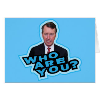 Who Are You Bob Etheridge? Card