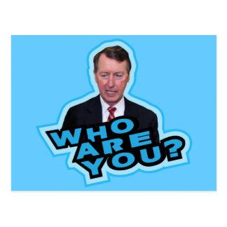 Who Are You Bob Etheridge? Postcard