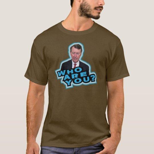 Who Are You Bob Etheridge? T-Shirt