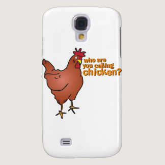 Who are you calling chicken? RED Galaxy S4 Case