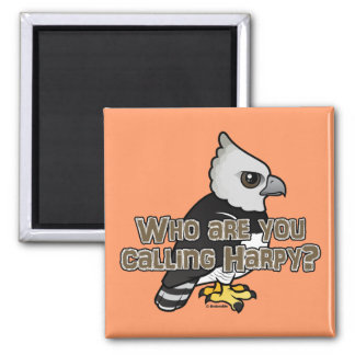 Who are you calling Harpy? 2 Inch Square Magnet