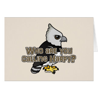 Who are you calling Harpy? Card
