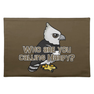 Who are you calling Harpy? Cloth Placemat