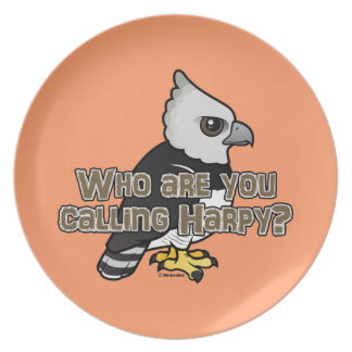Who are you calling Harpy? Dinner Plate