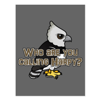 Who are you calling Harpy? Postcard