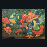 """Who are you? cloth placemat<br><div class=""""desc"""">Alice of the country of wonder in motif.</div>"""