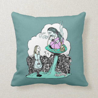 Who Are You ? Throw Pillow