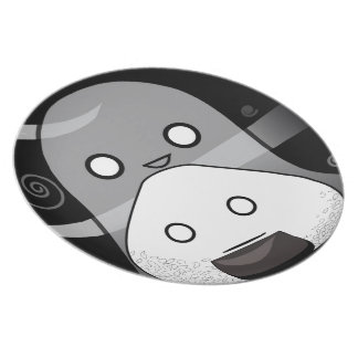 Who ate all the cookies!? melamine plate