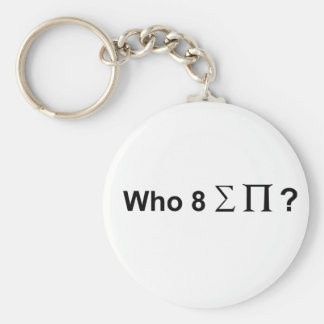 Who ate all the pies. keychain