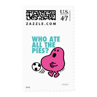Who Ate All The Pies? Postage Stamp