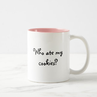 Who ate my cookies? Mug