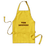 Who Beefed? Adult Apron