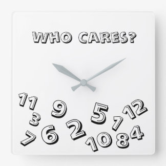 Who Care's About The Time Square Clock