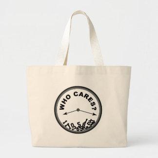 Who Cares Clock - Bag