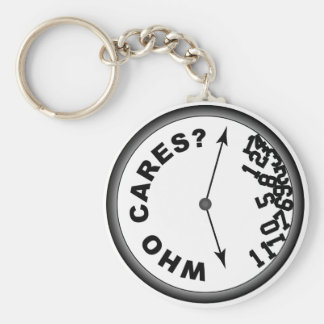 Who Cares Clock - Key Chain