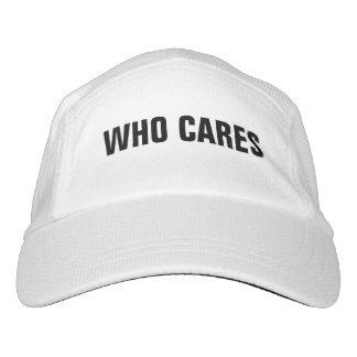 Who Cares Headsweats Hat