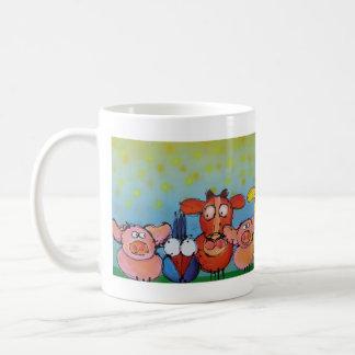 who ?! coffee mug