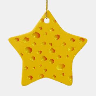 WHO CUT THE CHEESE! ~v.2~ Ceramic Ornament