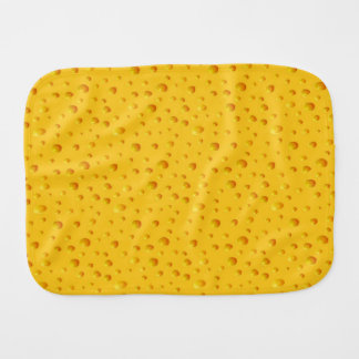 WHO CUT THE CHEESE! ~v.3~ Baby Burp Cloth