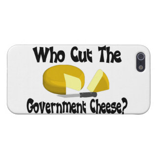 Who Cut The Government Cheese iPhone SE/5/5s Case