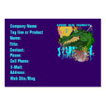 Who Da King? Louisiana Mardi Gras Business Card Template