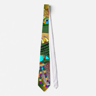 Who Da King Louisiana Neck Tie