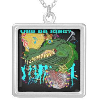 Who Da King? Louisiana Custom Necklace