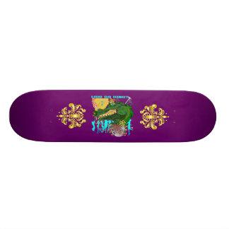 Who Da King Louisiana Skateboard Deck