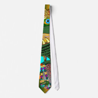 Who Da King Louisiana Tie