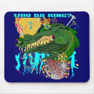 Who Da King V-1-C Mouse Pad