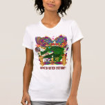 Who Da Witch Doctor Gator Front Witch Doctor Back T Shirt