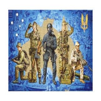 Who Dares Wins 22 SAS. Canvas Print
