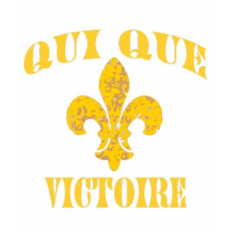 Who Dat Cajun French Victory shirt