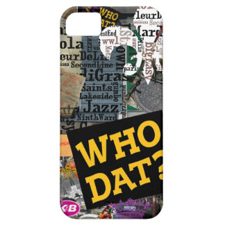 WHO DAT Collage Art iPhone SE/5/5s Case