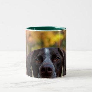 Who Dat Dog? Two-Tone Coffee Mug