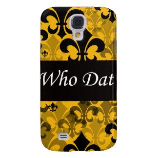"""Who Dat """"Fleur de Lis"""" 3g Speck Case Galaxy S4 Cover"""