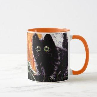 Who Dat Scaredy Cat Mug