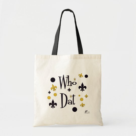 Who Dat t-shirts Tote Bag
