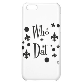 Who Dat's FUN Case For iPhone 5C