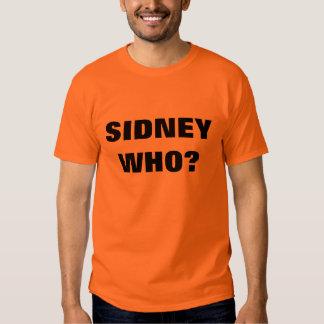 ¿WHO DE SIDNEY? REMERAS