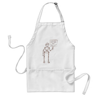Who Died And Made You Tesla? Adult Apron