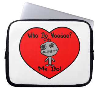 Who Do Voodoo Doll Laptop Computer Sleeves